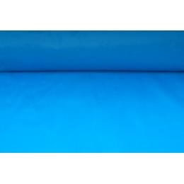 Šusťákovina blankytně modrá, látka metráž - SLEVA 50%, VÝPRODEJ !!!