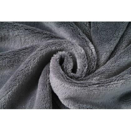 Coral cosy fleece šedá, látka, metráž