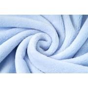 Coral cosy fleece světle modrá , látka, metráž