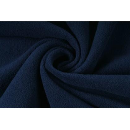 Fleece, micropolar tmavě modrá, navy blue látky, metráž