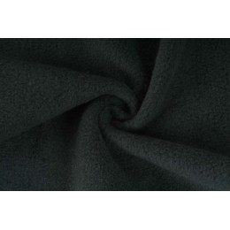Fleece, micropolar 240g černá, látky, metráž