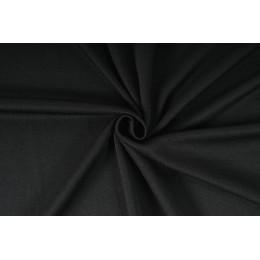 Šatovka, halenkovina tričkovina 180g, úplet LYCRA , metráž, látka, černá - VÝPRODEJ - SLEVA 50%