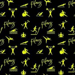 Funkční tričkovina, úplet TORINO, fitness, látka, metráž