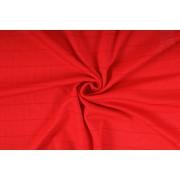 Funkční materiál, tričkovina, červená , metráž, látka - VÝPRODEJ - SLEVA 50%