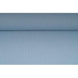 Funkční materiál, tričkovina, šedo modrá s proužkem , metráž, látka - VÝPRODEJ - SLEVA 70%