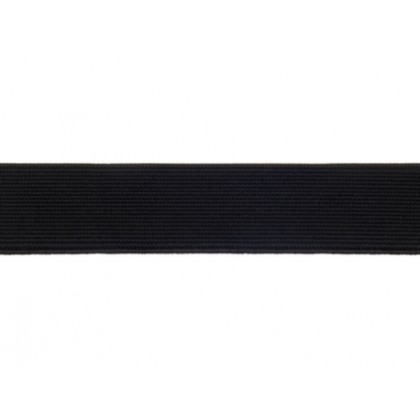Guma, pruženka prádlová černá 10mm, metráž