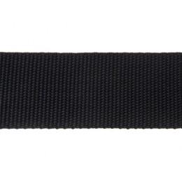 Popruh polypropylénový 30mm černý, galanterie, metráž