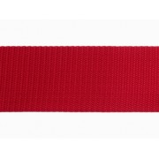 Popruh polypropylenový 20mm červený, galanterie, metráž