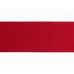 Popruh polypropylenový 30mm červený, galanterie, metráž