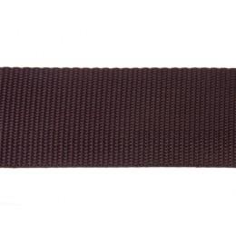 Popruh polypropylenový 25mm hnědý, galanterie, metráž