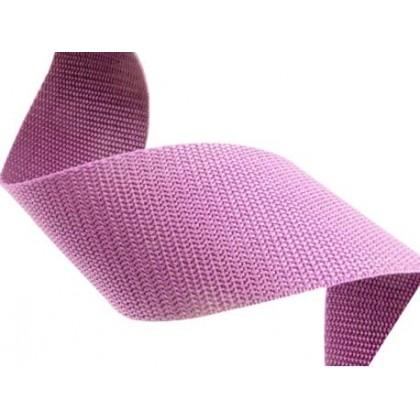 Popruh polypropylenový 25mm růžovo fialová, galanterie, metráž
