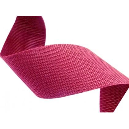 Popruh polypropylenový 10mm růžový, galanterie, metráž
