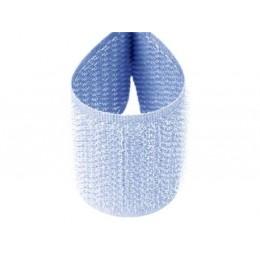 Suchý zip 20 mm světle modrý, metráž, komplet