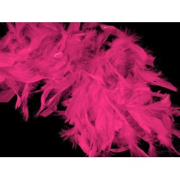 Boa z krůtího peří, růžové
