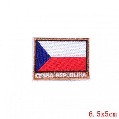 Nažehlovačka, nášivka, aplikace Česká republika