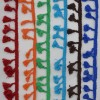 Prýmek - střapečky 40 mm, fialová, královská modrá