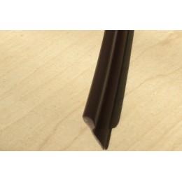 Paspule, kédr PVC 4/10mm hnědá, metráž