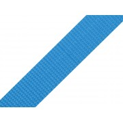 Popruh polypropylenový 30mm světle modrý, galanterie, metráž