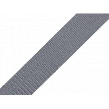 Popruh polypropylenový 20mm šedá, galanterie, metráž