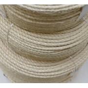 Provaz - sisalové lano 7 mm, přírodní , metráž