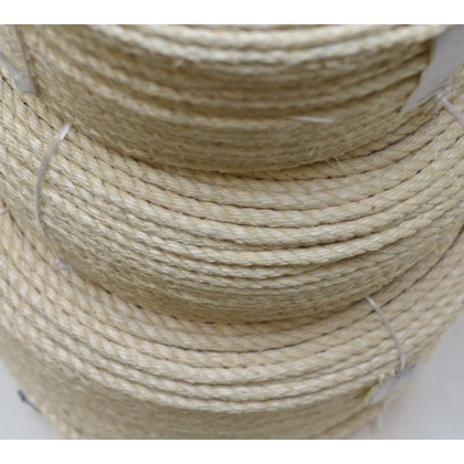 Provaz - sisalové lano 6 mm, přírodní , metráž