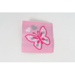 Nášivka, aplikace motýl