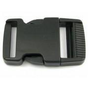 Plastový trojzubec rovný 25 mm černý