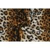 Kožešina de Luxe čalounická,  leopard, látky, metráž