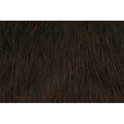 Kožešina, dlouhý vlas 40mm, čokoládově hnědá , látky, metráž