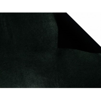 Koženka čalounická, eco kůže, tmavě zelená,lesk, látka, metráž