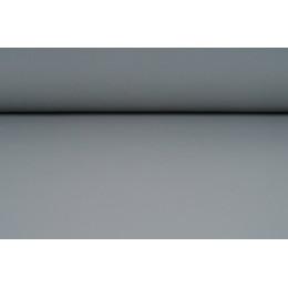 Koženka, ekokůže, čalounická hladká, matná šedá, šíře 15 cm, látka, metráž VÝPRODEJ, SLEVA 50%!