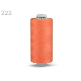 Nit polyesterová profesionální 120, Hagal, UNIPOLY, 5000 m , sytě oranžová