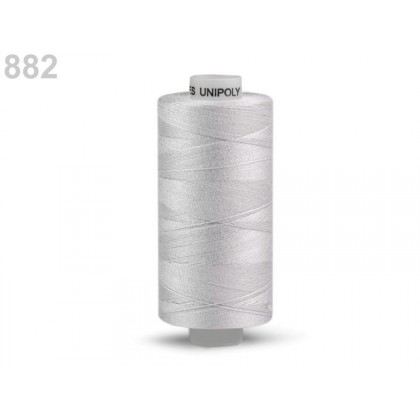 Nit polyesterová profesionální 120, Hagal, UNIPOLY, 5000 m světle šedá