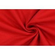 Kepr, montérkovina, pevná bavlněná textilie, červená, látky, metráž