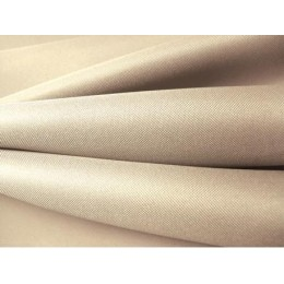 Textilie batohovina s PVC zátěrem bílá káva, látka, metráž