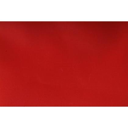 Textilie batohovina s PVC zátěrem červená, látka, metráž - II. jakost, sleva 50%
