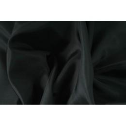 Podšívka polyesterová, černá,  metráž, látka