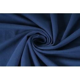 Elastická teplákovina nepočesaná, navy blue, látky, metráž, šíře role 175cm