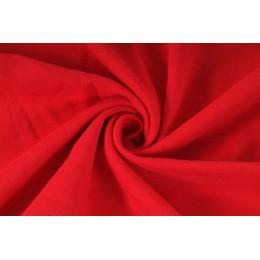 Teplákovina, počesaný elastický úplet, výplněk, červená, látky, metráž
