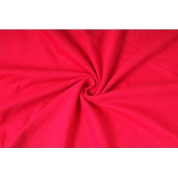 Úplet jednolíc, červená, tričkovina, látky, metráž