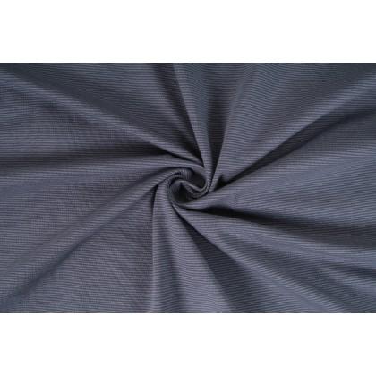 Úplet jednolíc, proužek jemný šedý, tričkovina, látky, metráž